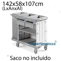 Carro para hotel Magic 880B soporte cajones