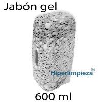 Dispensador de jabón Gota gris 600ml