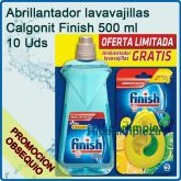10 botellas Finish abrillantado y secado 500 ml