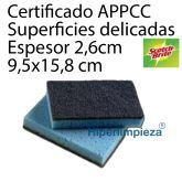 10 Estropajos Superficies Delicadas Scotch-Brite 158x95