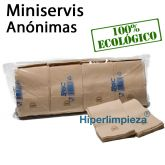 16.000 Servilletas de papel miniservis Nature