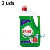 2uds Lavavajillas manual Fairy 5L