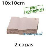 3000 Servilletas de papel 20x20 Nature