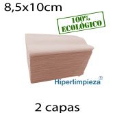 4800 Servilletas de papel 17x20 Nature