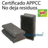 6 Salvauñas Scotch Brite High Pro negro