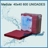 600 Servilletas Tisuclass 40x40 Burdeos Outlet