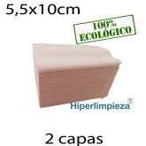 7200 Servilletas de papel 11x20 Nature