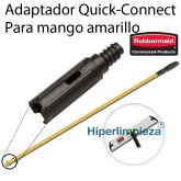 Adaptador Quick-Connect para Mangos Rubbermaid