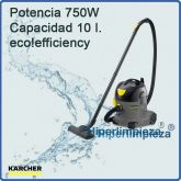Aspirador profesional Karcher  T 10/1 eco!efficiency