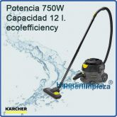 Aspirador profesional Karcher T 12/1 Eco efficiency