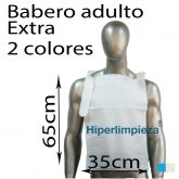 Baberos desechables adulto papel extra 500uds