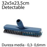 Cepillo buque 30 cm detectable