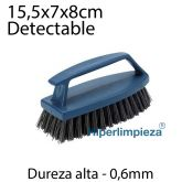 Cepillo manual con asa I.A. detectable