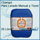 Champú de coches Manual y Tuneles 20 Lts