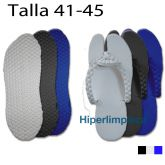 Chanclas desechables spa T41-45 100 pares