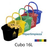 Cubo de fregona caution 16L
