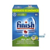 Detergente Calgonit 55 Finish Powerball