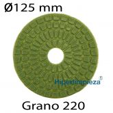 Disco diamantado B.R.T en seco 125 mm GRANO 220