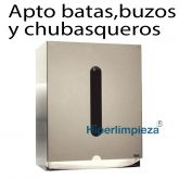 Dispensador de batas/buzos desechables