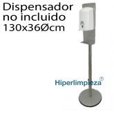 Dispensador de gel de pie 122cm