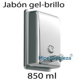 Dispensador de jabón 850ml inox brillo