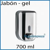 Dispensador de jabon Acero Inoxidable 700 ml