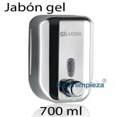 Dispensador de jabón acero inoxidable 700ml