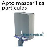 Dispensador de mascarillas partículas inox