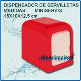 Dispensador de servilletas Rojo