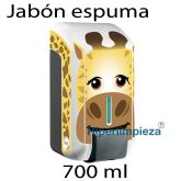 Dispensador Jabón espuma kids 700ml