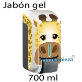 Dispensador Jabón gel kids 700ml