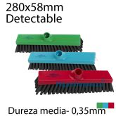 Escoba detectable para barrer de 280mm