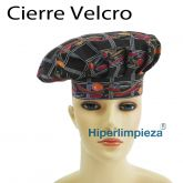 Gorros chef pepper 2uds