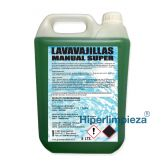 Lavavajillas manual concentrado 5L