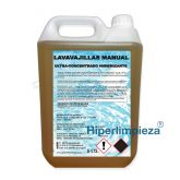 Lavavajillas manual concentrado higienizante 5L