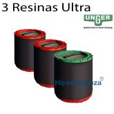 Pack 3 resinas Ultra DIUB3 Unger