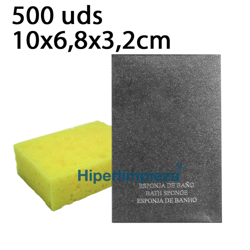 500 Esponjas de baño Amenities Electra 862542975ec0