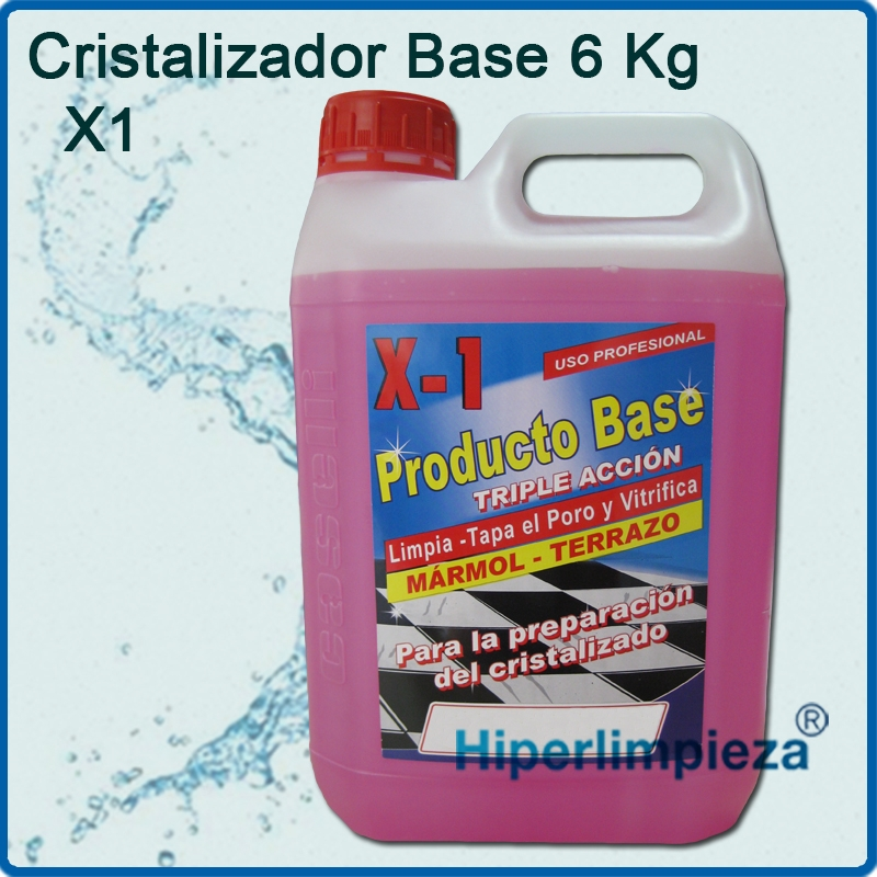 Base cristalizador x1 6kg - Abrillantador de marmol ...