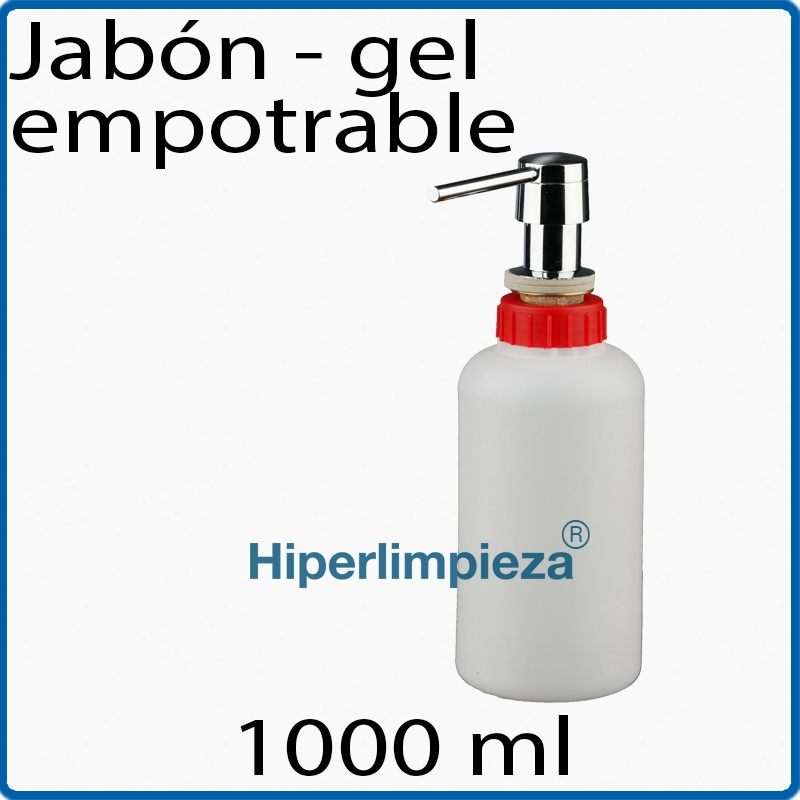 Dispensador de jabon empotrable 1000 ml for Dispensador de jabon de pared