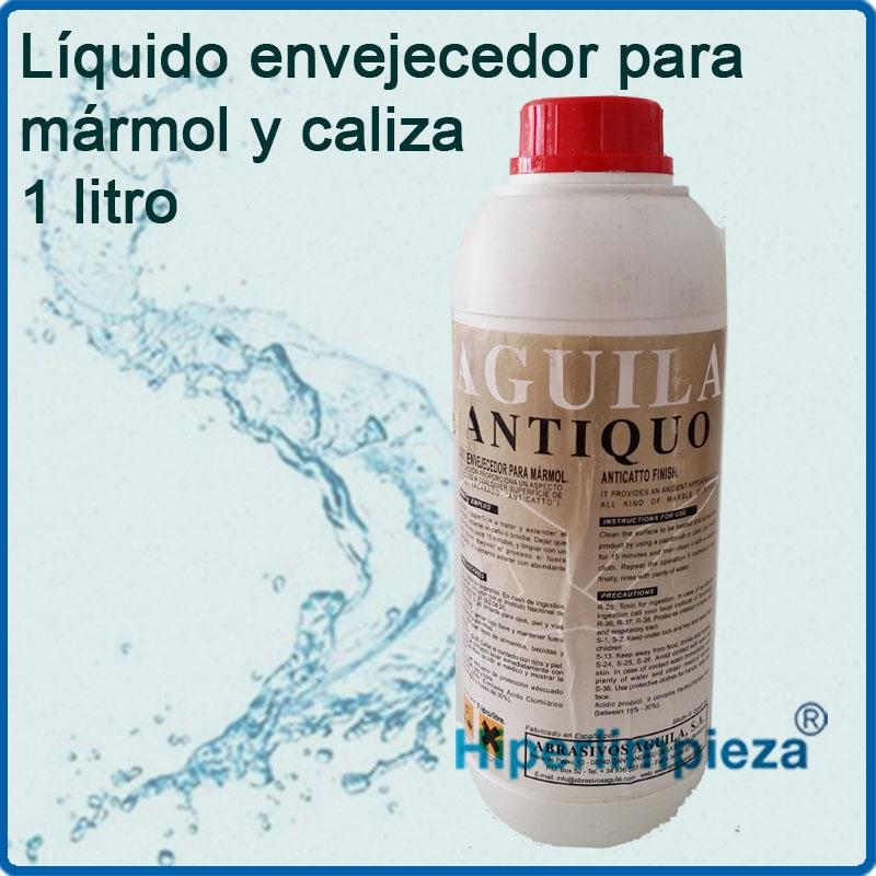 liquido envejecedor para m rmol o caliza 1 litro