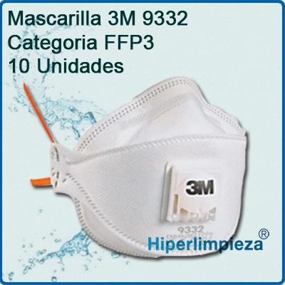 amazon mascarilla 3m 9332 precio
